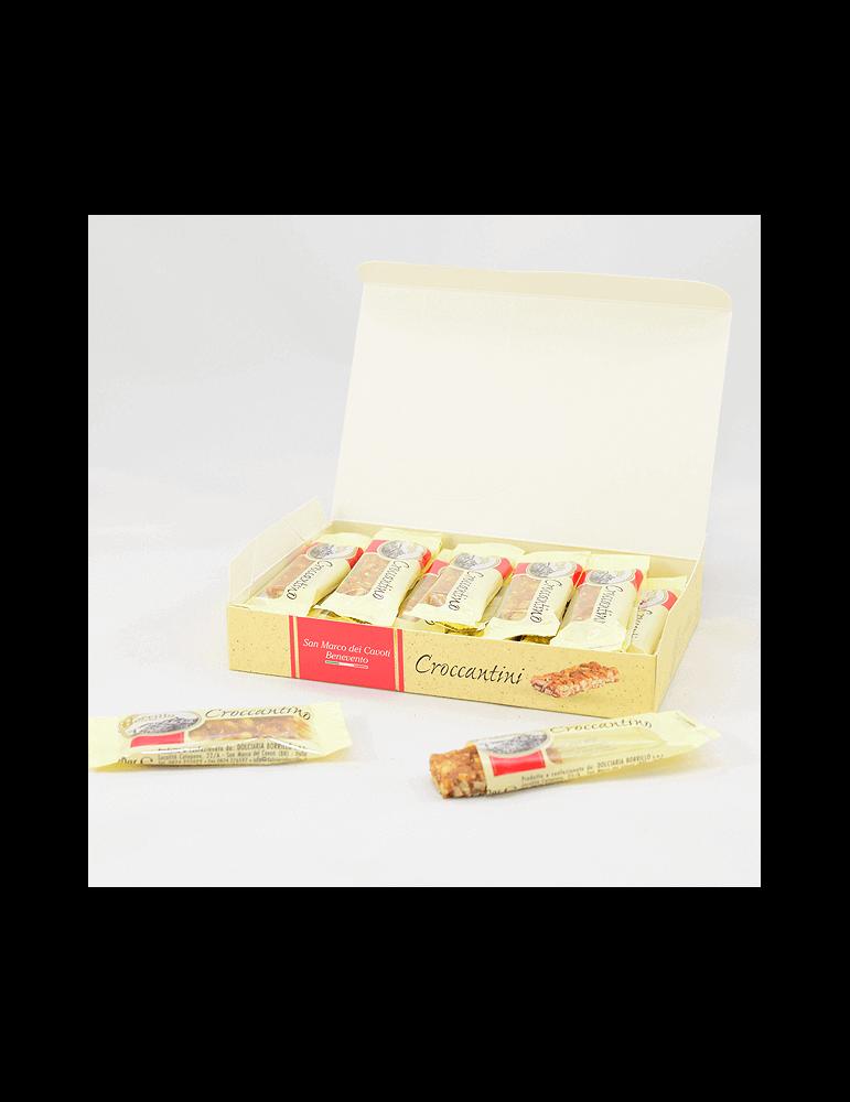 Crunchy nougat - 180gr - Borrillo
