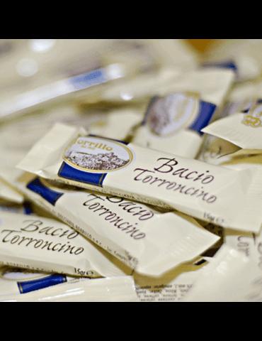 Confezione Baci Croccantini assortiti - 500gr - Torroni tradizionale Baci Borrillo