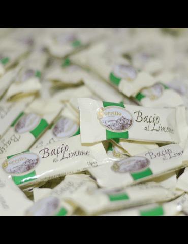 Torroncino al Limone Baci  Borrillo