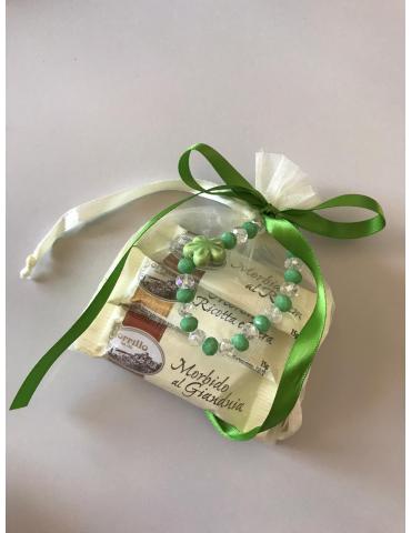 Handmade favors bracelets