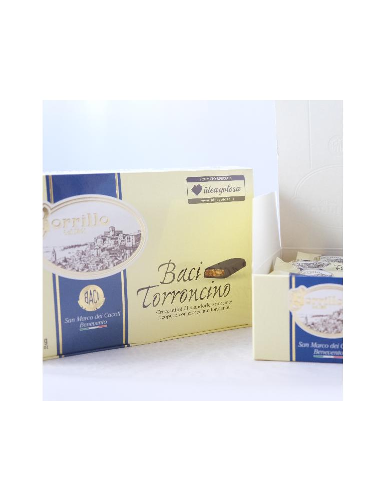 Esclusiva IdeaGolosa - Baci Torroncino - 500gr - Torroni Borrillo