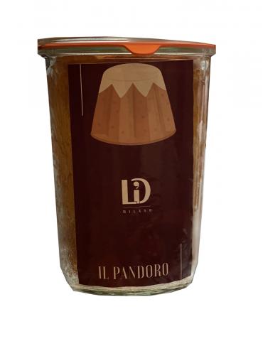 Pandoro in vasocottura - L'ile Douce