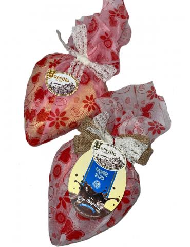 Cuore di cioccolato 200gr -...