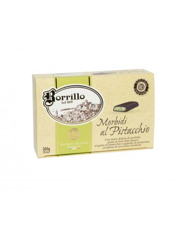 Morbidi al Pistacchio - 300gr - Torroni Borrillo