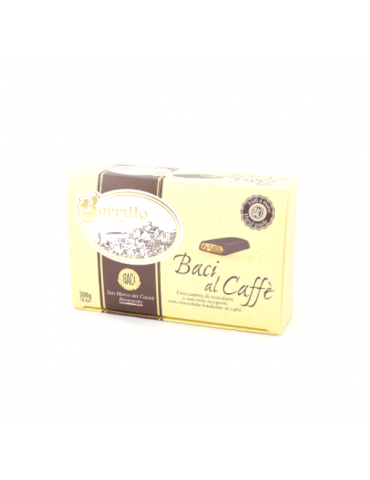Nougat with Coffee - multipack of 300 gr - Borrillo