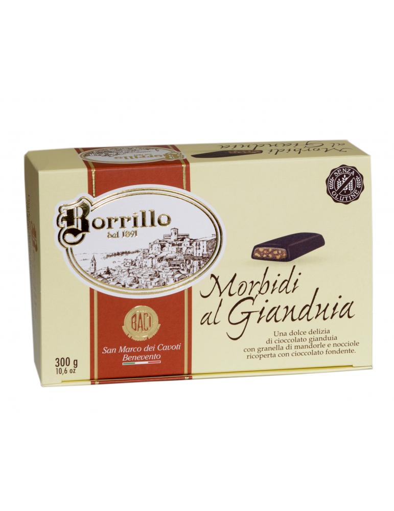 Morbidi al Gianduia - 300gr - Torroni Borrillo