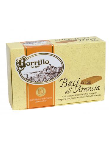 Baci all'Arancia - 300gr - Torroni Borrillo