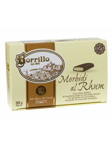 Soft with Rhum - 10,6 oz - Borrillo