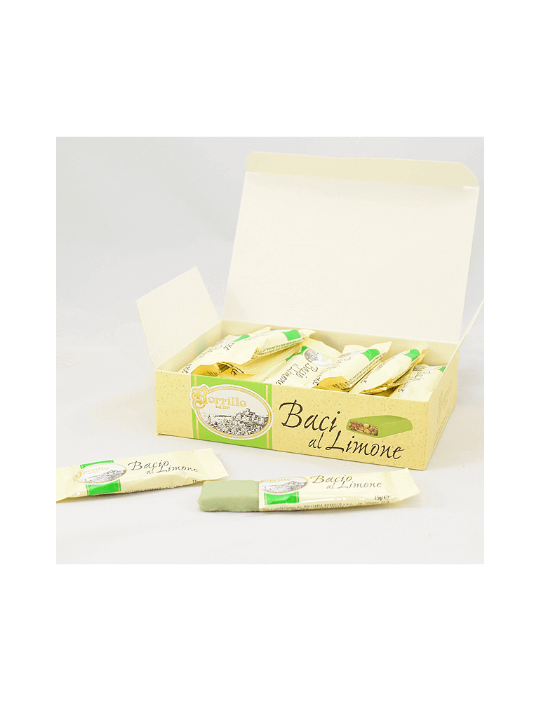 Nougat Lemon Kisses - 10,6 oz - Borrillo