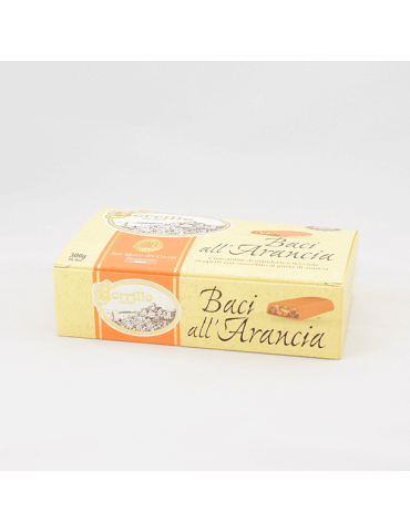 Baci all'Arancia - 300gr - Torroni Borrillo