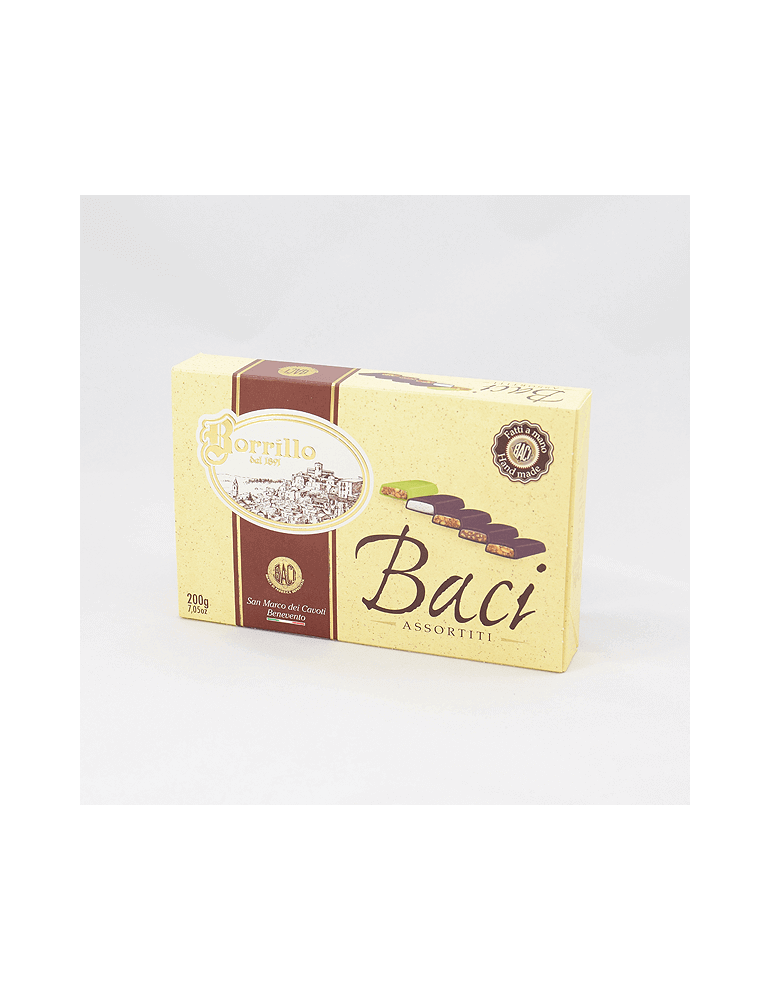 Confezione Baci Assortita - 200gr - Torroni Borrillo san marco dei cavoti