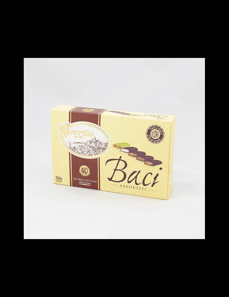 Nougat Assorted Pack Kisses - pack of 7,05 oz - Borrillo