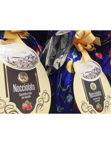 Nocciolato chocolate egg - Borrillo