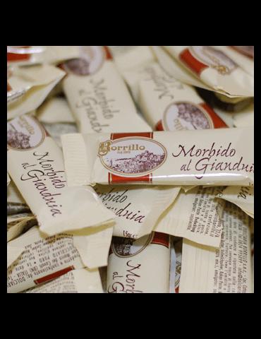 Confezione Baci Assortita - 200gr - Torroni Morbidi Gianduia Borrillo
