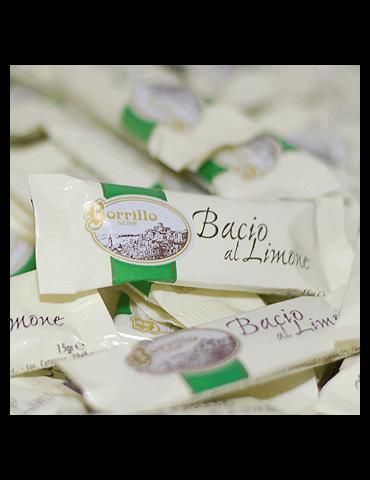 Confezione Baci Assortita - 200gr - Torroni Baci al Limone Borrillo